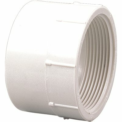 NIBCO 4 IN. PVC DWV HUB X FIPT FEMALE ADAPTER