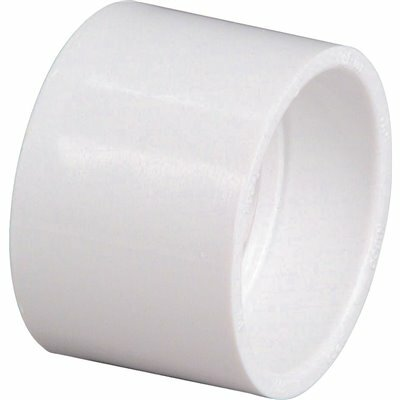 NIBCO 3 IN. PVC DWV HUB X HUB COUPLING FITTING