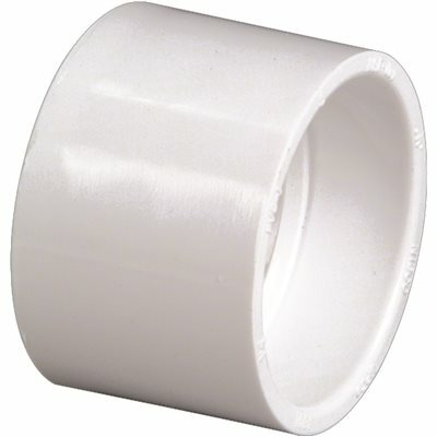 NIBCO 6 IN. PVC DWV HUB X HUB COUPLING FITTING