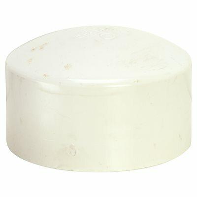 MUELLER STREAMLINE 6 IN. X 6 IN. PVC SCHEDULE 40 DWV CAP
