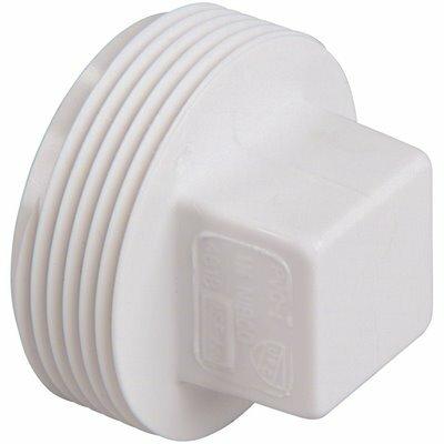 NIBCO 2 IN. PVC DWV MIPT CLEANOUT PLUG