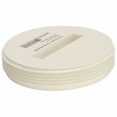 IPS CORPORATION 2 IN. IPS DWV PVC RECESSED CLEANOUT PLUG