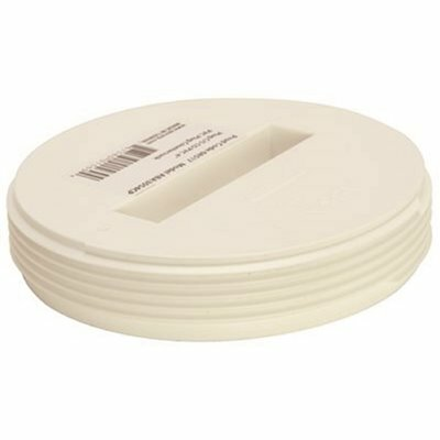 IPS CORPORATION 3 IN. IPS DWV PVC RECESSED CLEANOUT PLUG