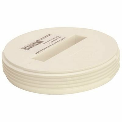 IPS CORPORATION 3-1/2 IN. IPS DWV PVC RECESSED CLEANOUT PLUG