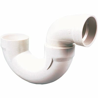 NIBCO 3 IN. PVC DWV H X H SOLVENT WELD P-TRAP