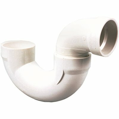 NIBCO, INC. 4 IN. PVC DWV H X H SOLVENT WELD P-TRAP