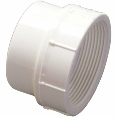 NIBCO 4 IN. PVC DWV STREET SPIGOT X FIPT FEMALE ADAPTER