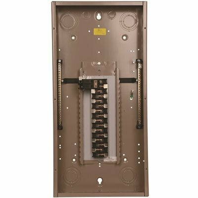EATON CH 100 AMP 30-SPACE AND 30-CIRCUIT INDOOR MAIN BREAKER LOADCENTER