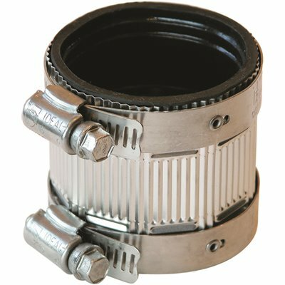 FERNCO 1-1/2 IN. NO-HUB CAST IRON TO 1-1/2 IN. NO-HUB CAST IRON SHIELDED COUPLING
