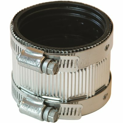 FERNCO 2 IN. TO 2 IN. NO HUB CI SHIELDED COUPLING