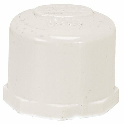 PROPLUS PVC THREADED PIPE CAP, 3/4 IN.