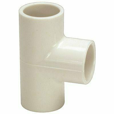PROPLUS PVC SCH 40 SLIP TEE, 1 IN. X 1 IN. X 1/2 IN.