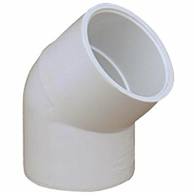 PROPLUS PVC SCHEDULE 40 45 DEGREE ELBOW, 1-1/2 IN.
