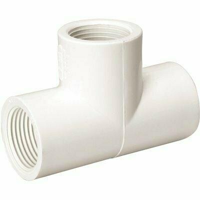 MUELLER STREAMLINE 3/4 IN. PVC FIPT X FIPT X FIPT TEE - MUELLER STREAMLINE PART #: 405-007HC