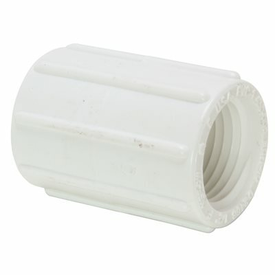 1/2 IN. X 1/2 IN. SCH. 40 PVC PRESSURE FPT X FPT COUPLING