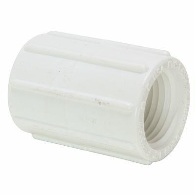 MUELLER STREAMLINE 3/4 IN. PVC SCH. 40 PRESSURE FIPT X FIPT COUPLING