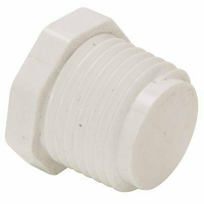 MUELLER STREAMLINE 1/2 IN. PVC MIPT PLUG