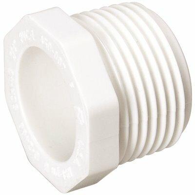 MUELLER STREAMLINE 3/4 IN. PVC MIPT PLUG