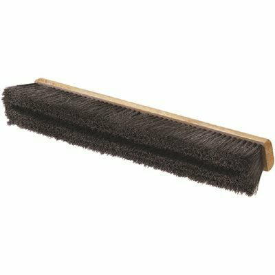 CARLISLE FLO-PAC 24 IN. L HORSEHAIR/POLYPROPYLENE SWEEP WITH WIRE CENTER (12-CASE)