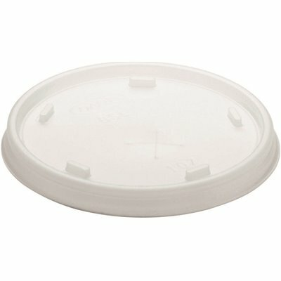 DART TRANSLUCENT STRAW SLOTTED LID (1000-PACK)