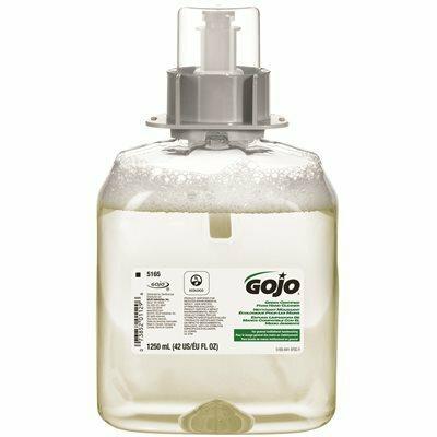 GOJO GREEN CERTIFIED 1250 ML FOAM HAND CLEANER