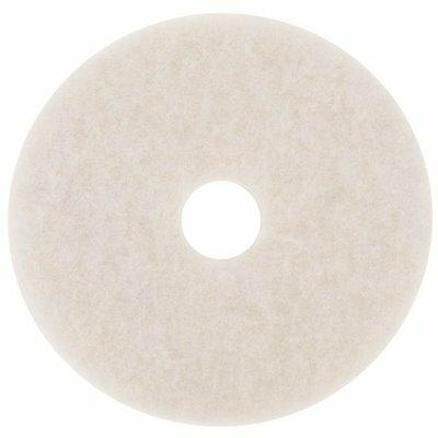 3M 14 IN. WHITE SUPER POLISH FLOOR PAD (5-COUNT)