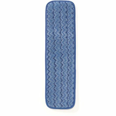 RUBBERMAID COMMERCIAL PRODUCTS HYGEN 18 IN. MICROFIBER WET MOP PAD REFILL