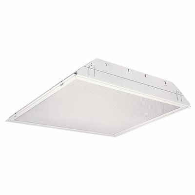 LITHONIA LIGHTING 2 FT. X 2 FT. 2-LIGHT 32-WATT WHITE FLUORESCENT TROFFER