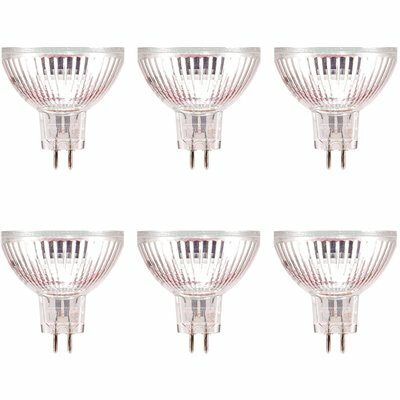 SYLVANIA 50-WATT MR16 FLOOD AND SPOT HALOGEN LIGHT BULB (6-PACK)