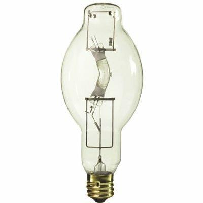 SYLVANIA SYLVANIA SUPER METALARC METAL HALIDE LAMP, BT37, 400 WATT, 133 VOLTS, E39 POSITION ORIENTED MOGUL, CLEAR