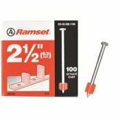 RAMSET 2-1/2 IN. DRIVE PINS (100-PACK)