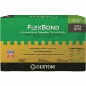 CUSTOM BUILDING PRODUCTS FLEXBOND GRAY 50 LBS. FORTIFIED THIN-SET MORTAR