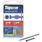 TAPCON 3/16 IN. X 1-3/4 IN. PHILLIPS-FLAT-HEAD CONCRETE ANCHORS (75-PACK)