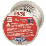 WORTHINGTON 16 OZ. 50/50 LEADED SOLDER