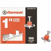 RAMSET 1 IN. DRIVE PINS WITH WASHERS (100-PACK)
