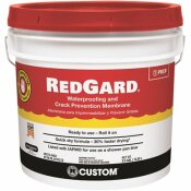 CUSTOM BUILDING PRODUCTS REDGARD 3-1/2 GAL. WATERPROOFING AND CRACK PREVENTION MEMBRANE