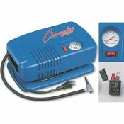 CHAMPION SPORT ELECTRIC INFLATING PUMP WITH GAUGE, HOSE & NEEDLE, 1/4 HP COMPRESSOR