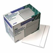 QUALITY PARK PRODUCTS OPEN SIDE BOOKLET ENVELOPE, CONTEMPORARY, 12 X 9, WHITE, 250/BOX