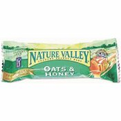 NATURE VALLEY 1.5 OZ. OATS AND HONEY CEREAL GRANOLA BARS SALTY SNACK (18-PACK/BOX)