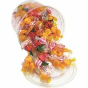 OFFICE SNAX 2 LBS. TUB FANCY ASSORTED HARD CANDY INDIVIDUALLY WRAPPED
