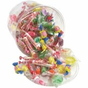 OFFICE SNAX 2 LBS. ALL TIME FAVORITE ASSORTED CANDIES AND GUM, PLASTIC TUB