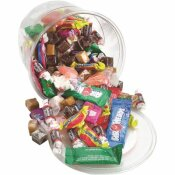 OFFICE SNAX ASSORTED SOFT CANDY SOFT AND CHEWY MIX (2 LBS. PLASTIC TUB)
