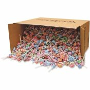 DUM DUM POPS 30 LBS. LOLLIPOPS ASSORTED FLAVORS INDIVIDUALLY WRAPPED
