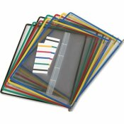 TARIFOLD, INC. REPLACEMENT PIVOTING POCKETS FOR WALL UNIT AND DESKTOP STARTER SET, 10/PACK
