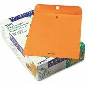 QUALITY PARK PRODUCTS CLASP ENVELOPE, 9 1/2 X 12 1/2, 28LB, LIGHT BROWN, 100/BOX
