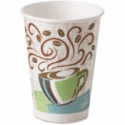 DIXIE 12 OZ. COFFEE DREAMS PAPER HOT DRINK CUPS (50 PER PACK)