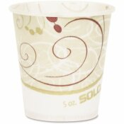 SOLO 5 OZ. WAXED PAPER WATER CUPS (100 PER PACK)