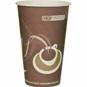 ECO PRODUCTS EVOLUTION WORLD 24% PCF HOT DRINK CUPS, PURPLE, 16 OZ., 1,000 PER CARTON
