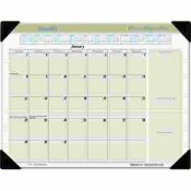 AT-A-GLANCE EXECUTIVE 22 IN. X 17 IN. MONTHLY DESK PAD CALENDAR
