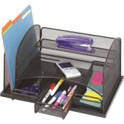 SAFCO 15-7/8 IN. X 11-3/8 IN. X 8 IN. 3-DRAWER STEEL ORGANIZER